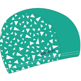 speedo Printed Polyester Uimalakki, cosmos/emerald/aqua mint